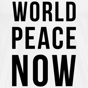 World Peace Top - Maglietta Premium da uomo