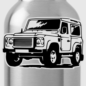 Defender (mit Hintergrund) T-Shirts - Water Bottle