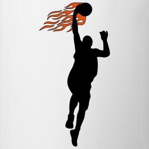 Basketball on fire Tank Tops - Kop/krus