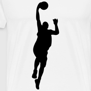 Basketball Manches longues - T-shirt Premium Homme