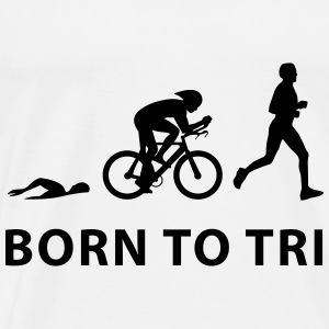 Born To Tri Baby Bodys - Männer Premium T-Shirt