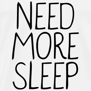 NEED MORE SLEEP! Débardeurs - T-shirt Premium Homme