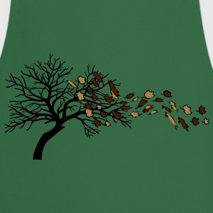 Autumn leaves tree wind T-Shirts - Cooking Apron