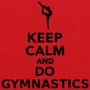 Keep calm and do gymnastics T-Shirts - Stoffbeutel