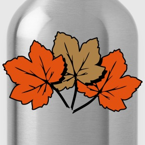 Autumn leaves melancholy art T-Shirts - Water Bottle