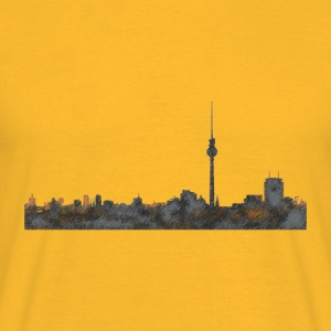 Berlin Skyline Tops - Männer T-Shirt