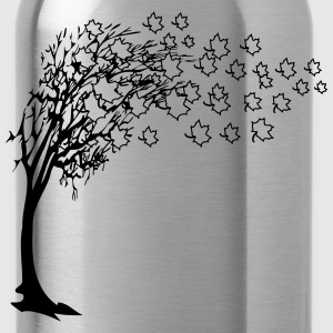 Autumn tree leaves T-Shirts - Water Bottle