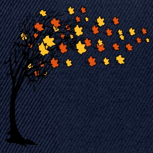 Autumn tree leaves T-Shirts - Snapback Cap