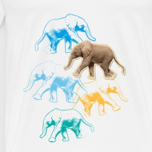 Animal Planet Elephant Baby One-Piece - Men's Premium T-Shirt