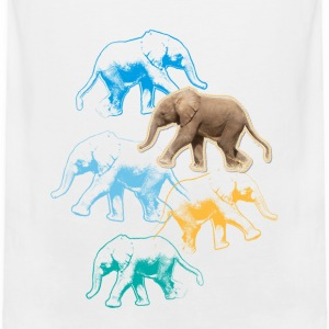 Animal Planet elefant babybody - Premium singlet for menn