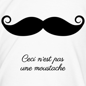 Ceci n'est pas une moustache (This is not a tash) - Men's Premium T-Shirt