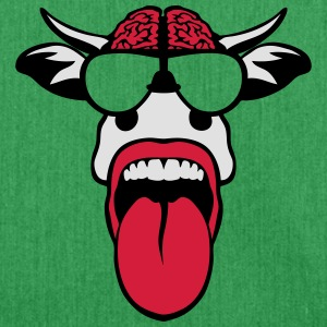 Cow brain tongue glasses T-Shirts - Shoulder Bag made from recycled material