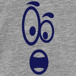Smiley amazed 9 Tops - Men's Premium T-Shirt