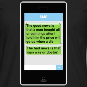 SMS - Paintings T-Shirts - Men's Premium Longsleeve Shirt
