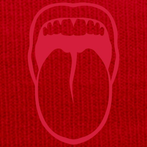 Tongue drawn mouth tooth 3108 T-Shirts - Winter Hat