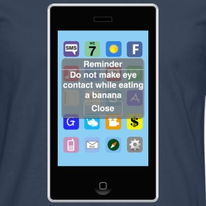 Reminder - Banana T-Shirts - Men's Premium Longsleeve Shirt