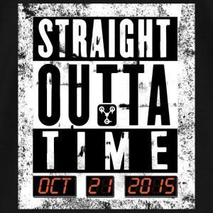 Straight outta time - Männer Premium T-Shirt