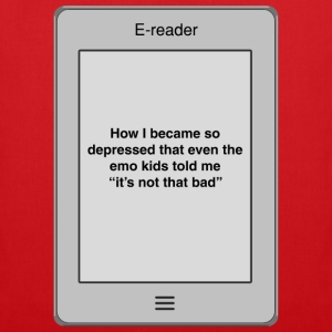 Book title - Depressed T-Shirts - Tote Bag