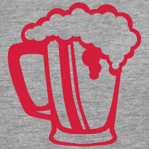 Beer glass alcohol foam 31082 T-Shirts - Men's Premium Longsleeve Shirt