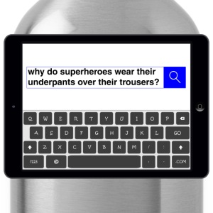 Search - Superheroes T-Shirts - Water Bottle