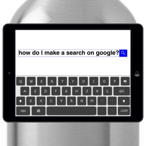 Search - Google T-Shirts - Water Bottle