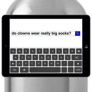 Search - Clowns T-Shirts - Water Bottle
