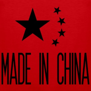 Made in China T-shirts - Mannen Premium tank top