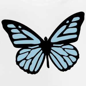 butterfly - papillon Sweats - T-shirt Bébé