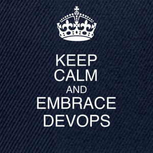 Keep Calm DevOps - Gorra Snapback