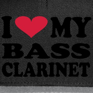 I Love my Bass Clarinet - Snapback-caps