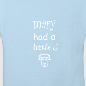 Mary had little lamb baby grow - Kids' Organic T-shirt