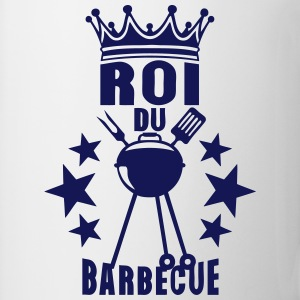 roi barbecue couronne bbq barbec barbeuk Tabliers - Tasse