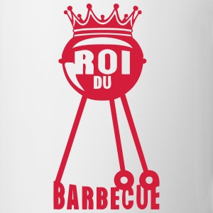 roi barbecue couronne bbq barbec 2 Tabliers - Tasse