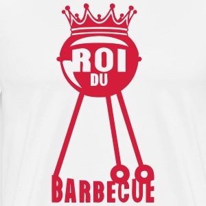 roi barbecue couronne bbq barbec 2 Tabliers - T-shirt Premium Homme