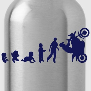 Evolution smash stunts motorbike Hoodies & Sweatshirts - Water Bottle