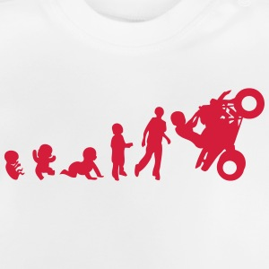 evolution bebe adulte smash quad Tee shirts - T-shirt Bébé