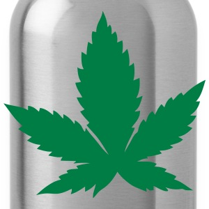 Cannabis leaf 2608 T-Shirts - Water Bottle