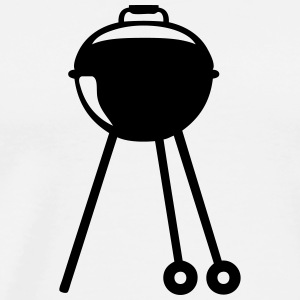 Barbecue bbq logo barbeuk _26082  Aprons - Men's Premium T-Shirt