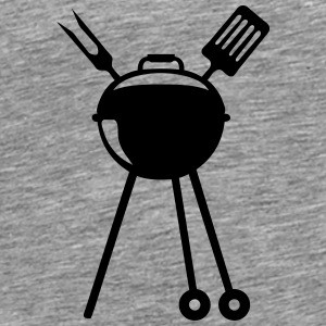 Barbecue bbq logo Pic barbeuk 2608 Tops - Men's Premium T-Shirt