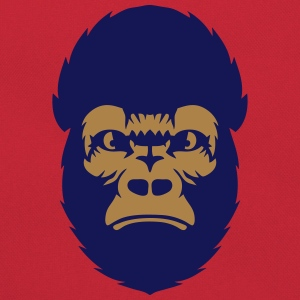 Gorilla animal ape  2608 T-Shirts - Retro Bag
