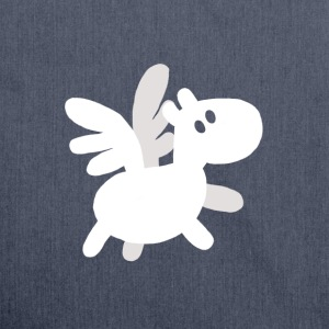 Baby Pegasus T-Shirts - Schultertasche aus Recycling-Material
