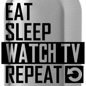 watch tv T-Shirts - Trinkflasche