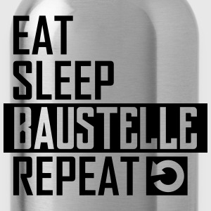 Baustelle T-Shirts - Trinkflasche