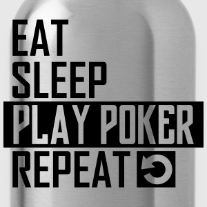 play poker T-Shirts - Trinkflasche
