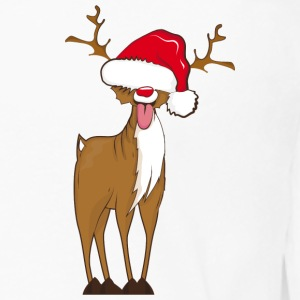 A naughty reindeer  Hoodies & Sweatshirts - Men's Premium Longsleeve Shirt