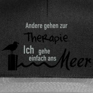 Therapie am Meer T-Shirts - Snapback Cap