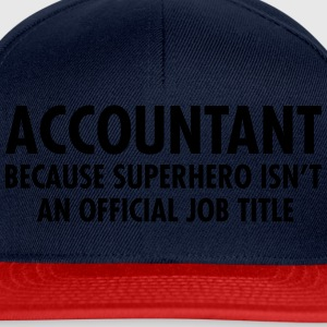 Accountant - Superhero Tee shirts - Casquette snapback