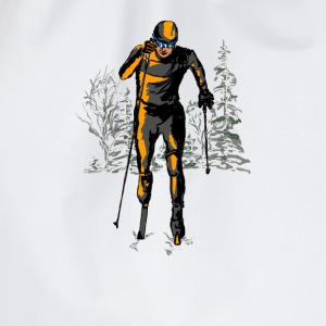 skiing Shirts - Drawstring Bag