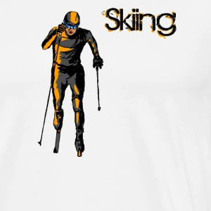 skiing Long sleeve shirts - Men's Premium T-Shirt