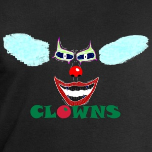 clown-gesicht-negativ2 Tee shirts - Sweat-shirt Homme Stanley & Stella